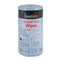 Regular Duty Wipes 65m - blue
