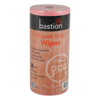 Regular Duty Wipes 45m - red