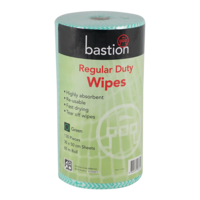 Regular Duty Wipes 65m - green