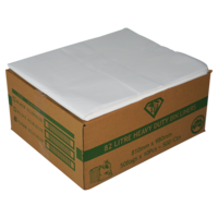 82 Litre Clear Heavy Duty Bin Liner