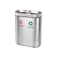 Divided Indoor Eatery Bin