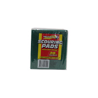 Scouring pads 20pk colours