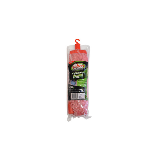 SABCO Professional 400g Cotton Mop Head Refill - Red